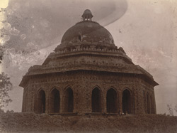 General view of the tomb said to have been built by Ala-ud-Din Alam Shah, Tijara.